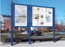 Vitincom display and information poster cases