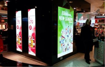 diamond led light boxes in action